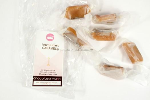 Chocolate Twist Burnt Toast Caramels