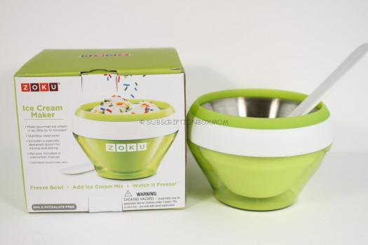 Mini Ice Cream Maker by Zoku, Hoboken, NJ