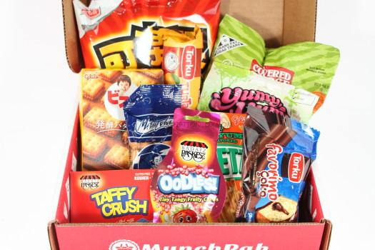 Munchpak August 2016 Review