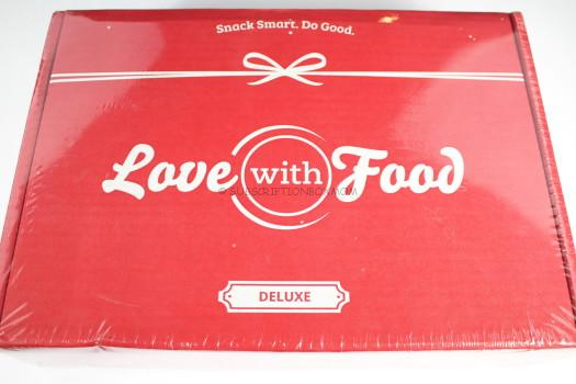 Love with Food August 2016 Deluxe Box Review