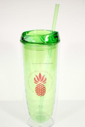 Double Walled Pineapple Tumbler