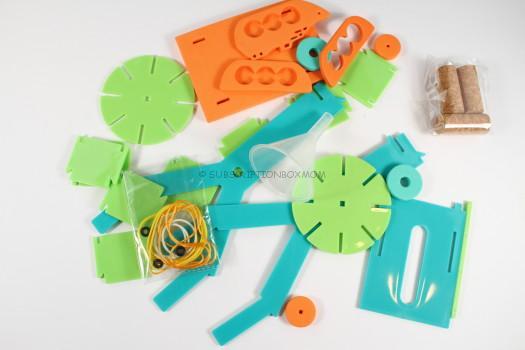 water wheel parts