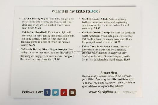 KitNipBox Information Card