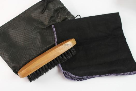 DIY Shoe Brush & Rag
