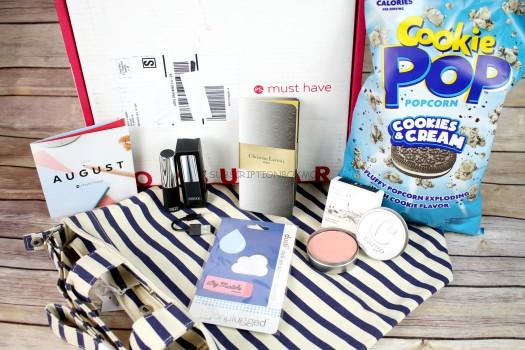 POPSUGAR Must Have Box August 2016 Review