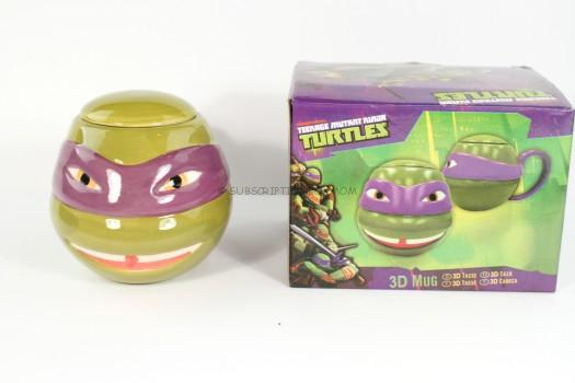 Silver Buffalo Teenage Mutant Ninja Turtles Donatello Sculpted Mugs
