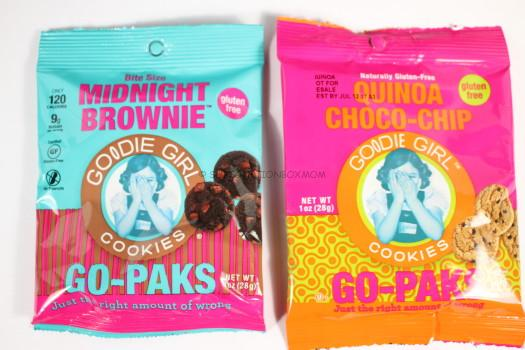 Goodie Girl Cookies Midnight Brownie and Quinoa Choco Chip Cookies