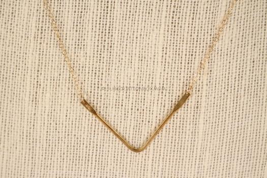 Wishbone Pendant Necklace by Tribe Alive, Honduras