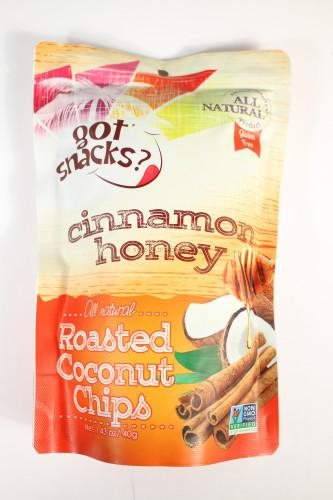 Got Snacks? Roasted Coconut Chips