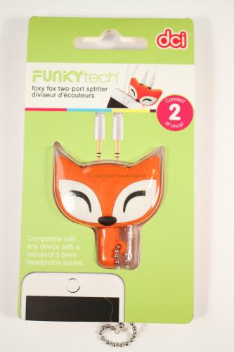 Foxy Fox two-port splitter