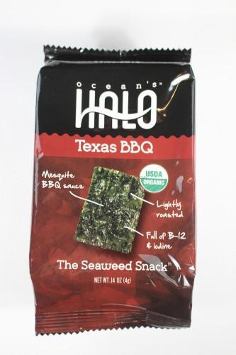 Ocean's Halo Seaweed Snacks in Texas BBQ