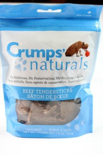 Grump's Naturals Beef Beef Tendersticks