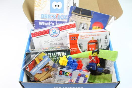 Brick Loot August 2016 Review