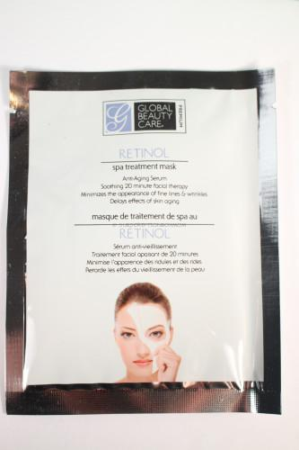 Global Beauty Care Retinol Spa Treatment Mask