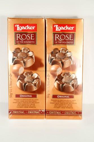 Loacker Rose of the Dolomite Chocolate