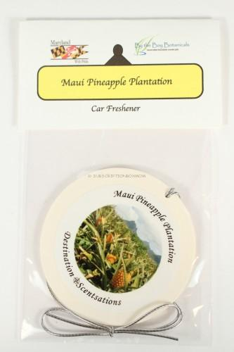 Maui Pineapple Plantation Car Freshener