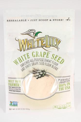 White Lily White Grape and Wheat Flour