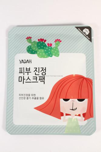 Yadah Cactus Soothing Mask Pack