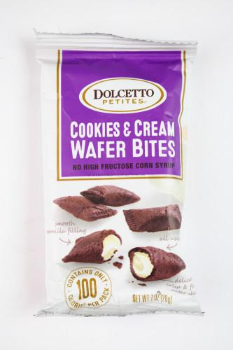 Dolcetto Petites Cookies & Cream Wafer Bites