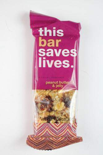 This Bar Saves Lives Peanut Butter & Jelly