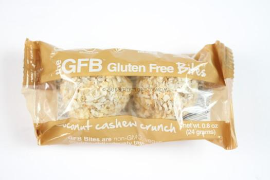 The GFB Coconut Cashew Crunch Bites