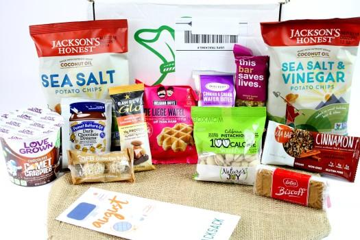SnackSack August 2016 Review