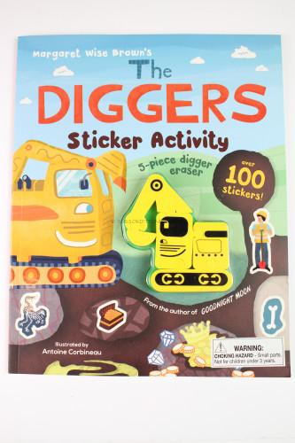 The Diggers Sticker Activity (Margaret Wise Brown)