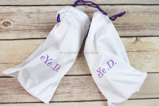 sunglasses protective bag