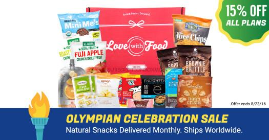 Love with Food Subscription Sale - Save on ALL PLANS