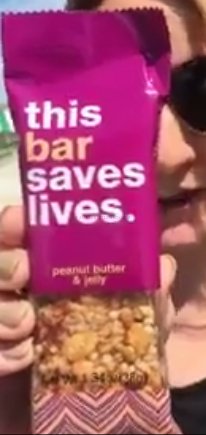 This Bar Saves Lives - Peanut Butter & Jelly