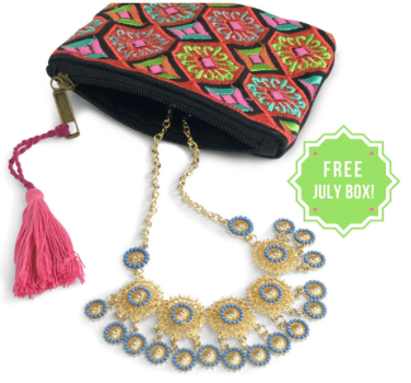 Free Bijoux Box with 3 Month Subscription