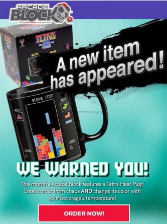 Tetris Mug