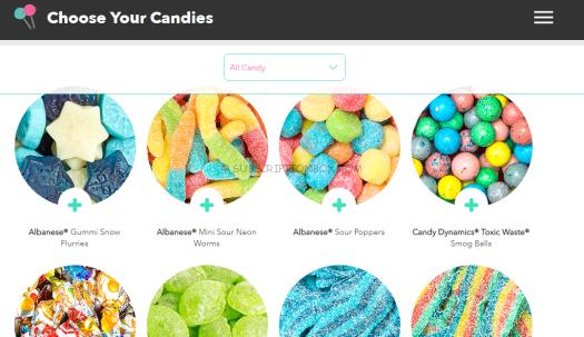 candy club customization