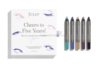 Cheers to Five Years! Mini Eyeliner Set