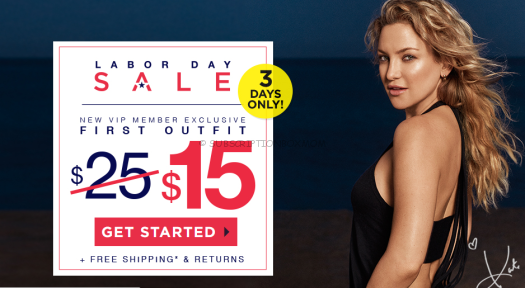 Fabletics Labor Day Coupon 2016
