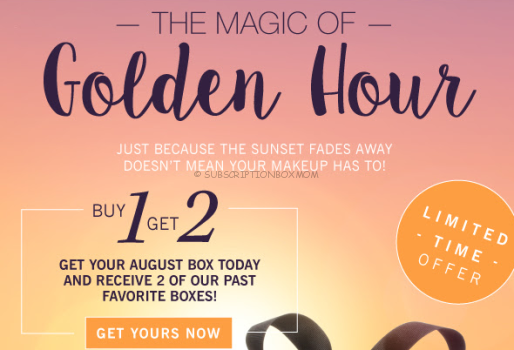 Glossybox Buy 1 Get 2 FREE