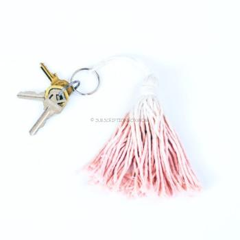 Tassel Bag Charm: by Tribe Alive