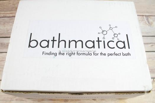 Bathmatical October 2016 Review
