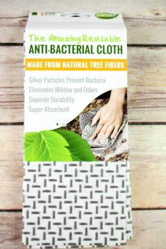 Smart Reusable Antibacterial Cloth