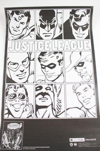 DC Comics Coloring Posters