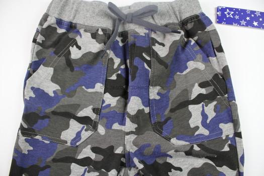 Blue Camo Harem Pant- Pockets