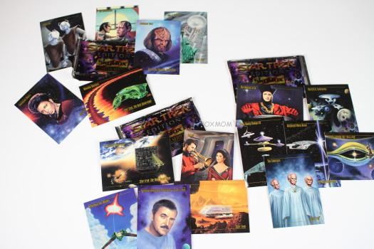 Star Trek Master Series 1 Trading Cards