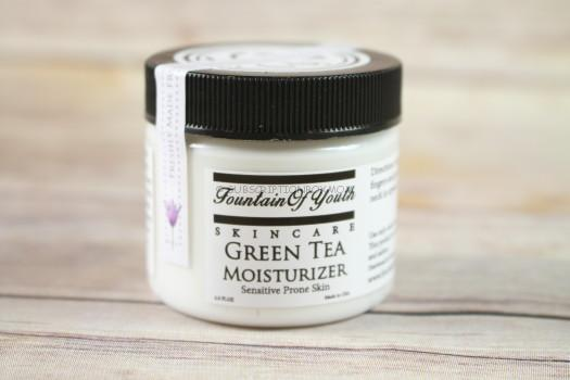 Fountain of Youth Skincare Green Tea Moisturizer