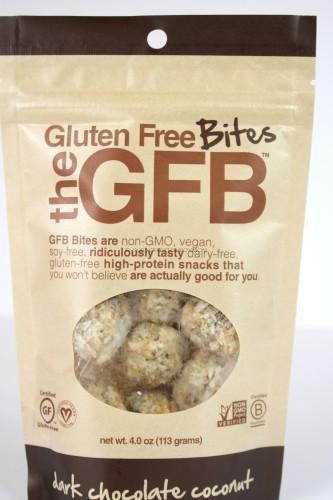 The Gluten Free Bites Dark Chocolate Coconut Bites