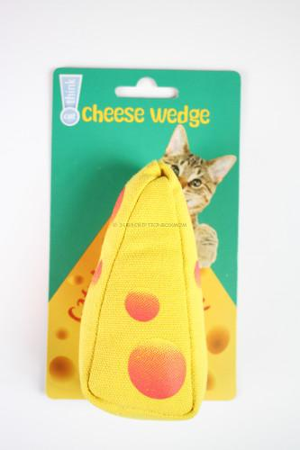 Think Cat! Catnip Cheese Toy