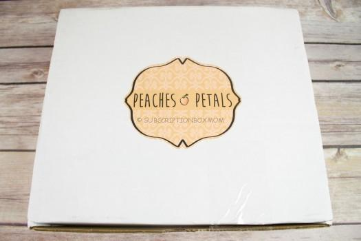 Peaches & Petals September 2016 Review