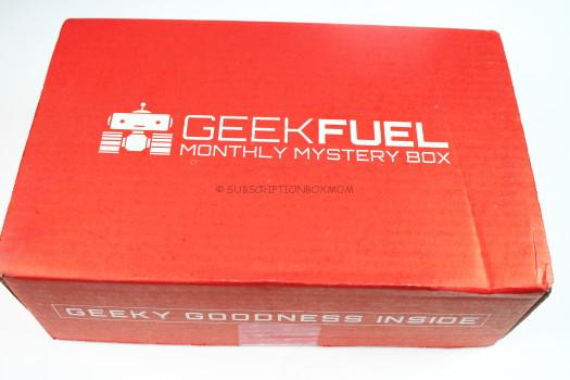 Geek Fuel September 2016 Review
