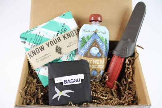 The Nomadik Subscription Box September 2016 Review