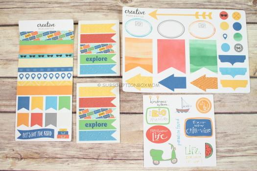 Creative Mercantile Sticker Sheets and Kindness by Emma