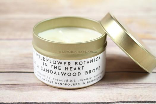 Hi Wildflower Sandalwood Candle